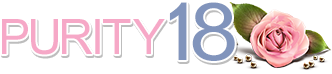 Purity18.com' logo